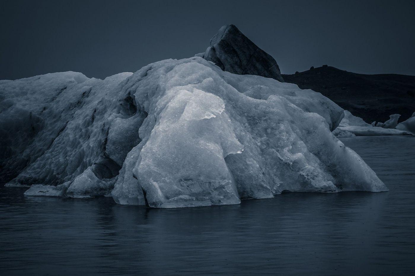 冰岛冰川泻湖(Glacier Lagoon),流动的冰川_图1-13