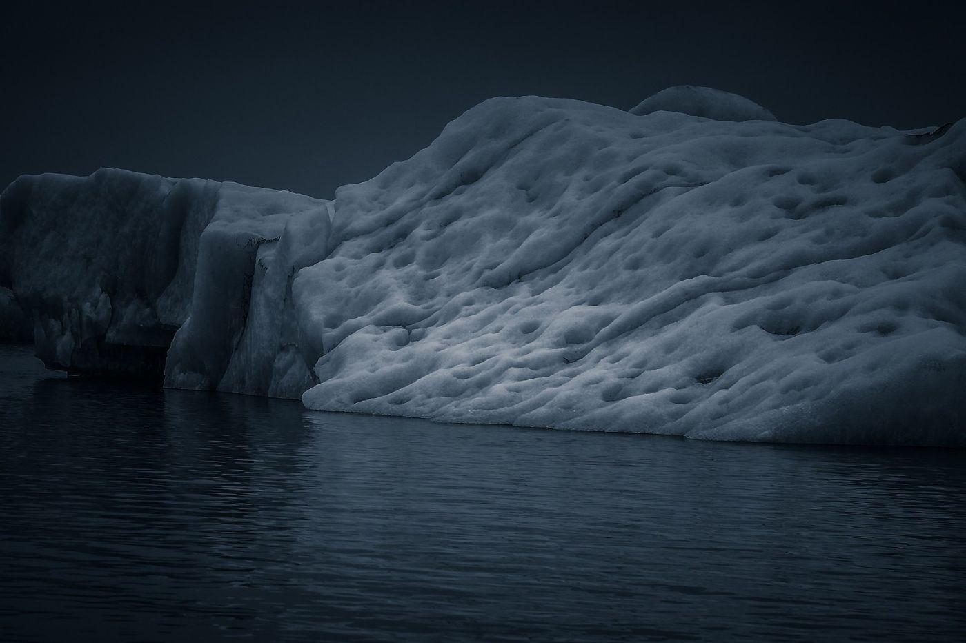 冰岛冰川泻湖(Glacier Lagoon),流动的冰川_图1-32