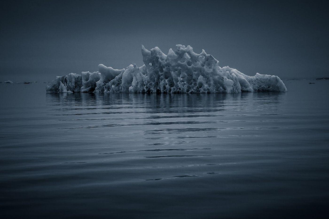 冰岛冰川泻湖(Glacier Lagoon),流动的冰川_图1-31