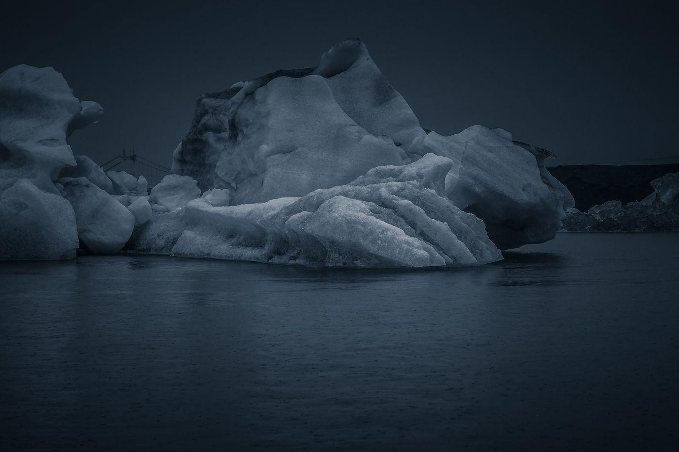 冰岛冰川泻湖(Glacier Lagoon),流动的冰川_图1-34