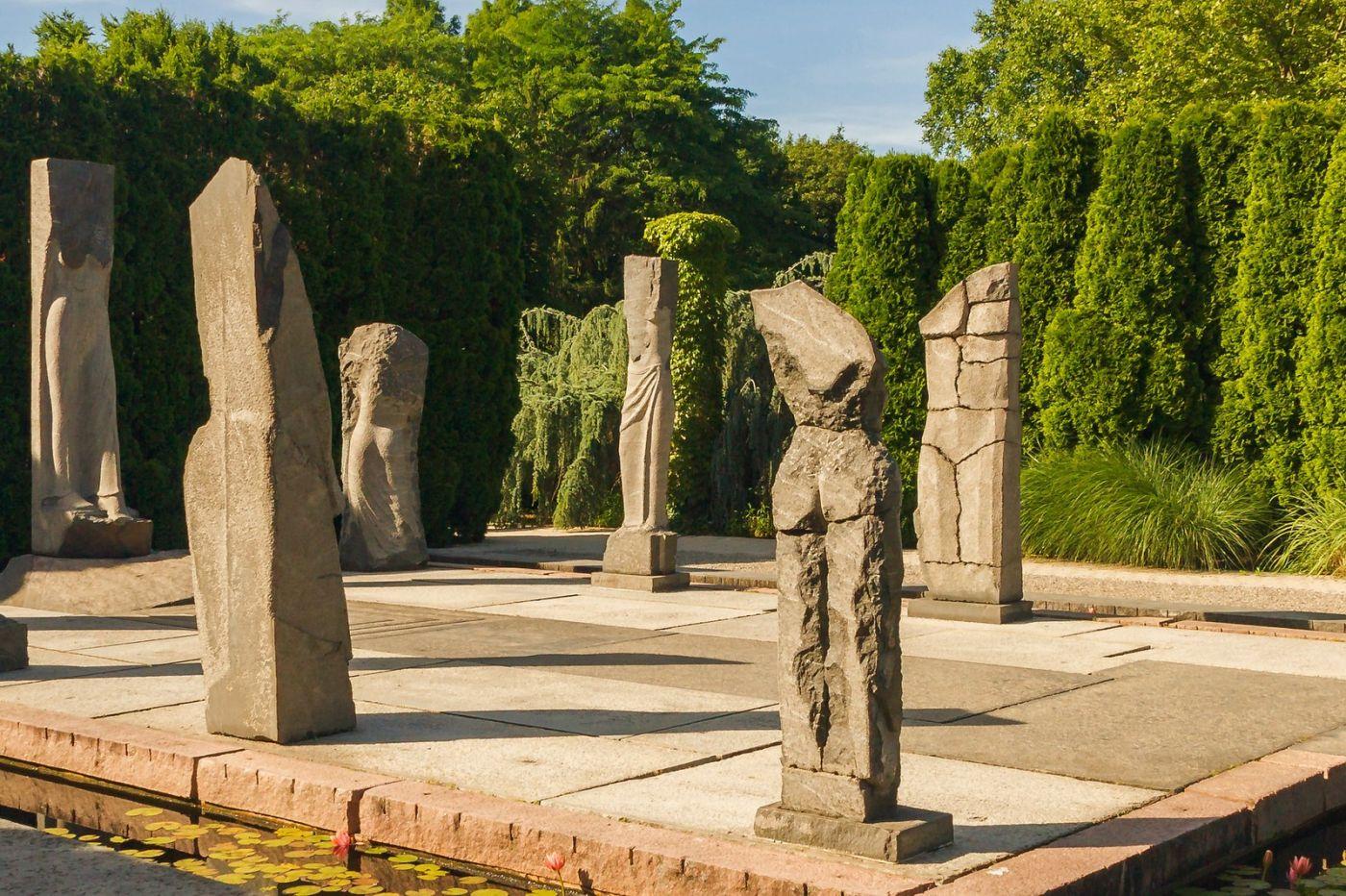 新泽西州雕塑公园(Grounds for scuplture),很有看点_图1-7