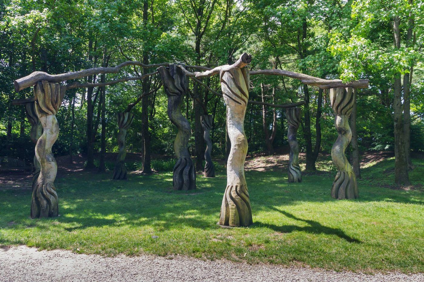 新泽西州雕塑公园(Grounds for scuplture),很有看点_图1-19