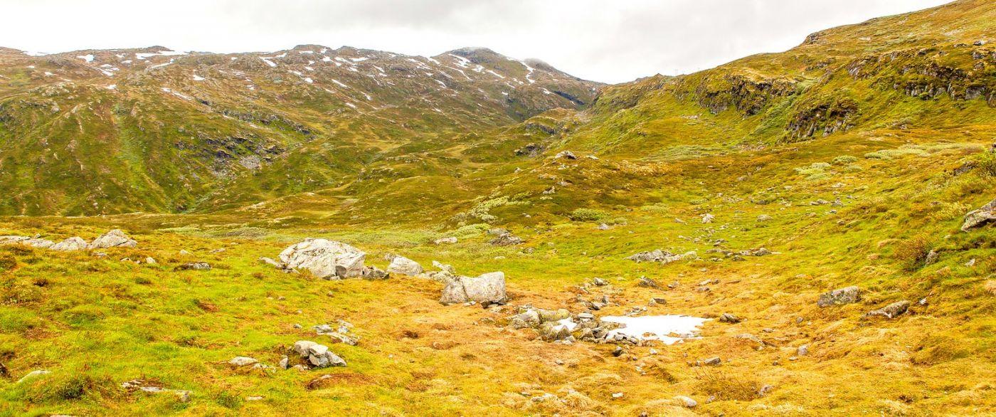 北欧风光,蜿蜒的小道_图1-3