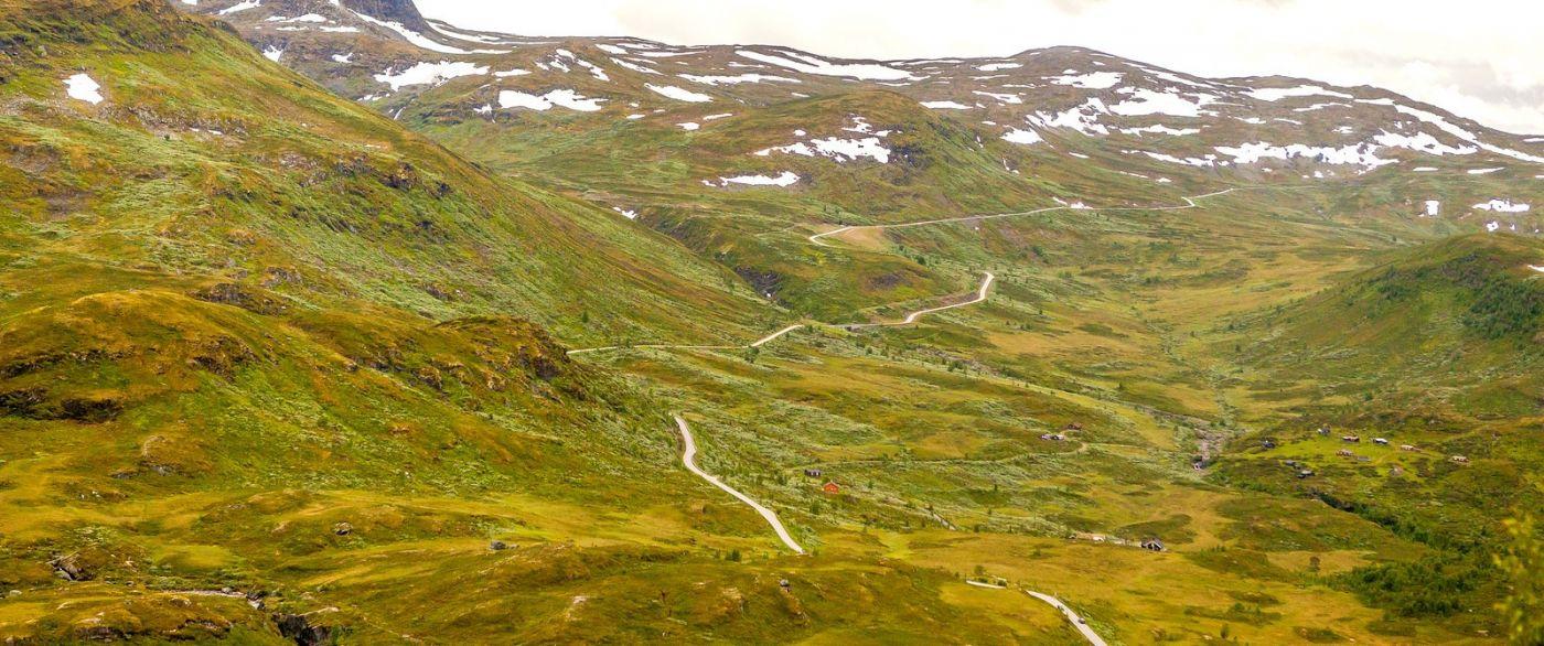 北欧风光,蜿蜒的小道_图1-5
