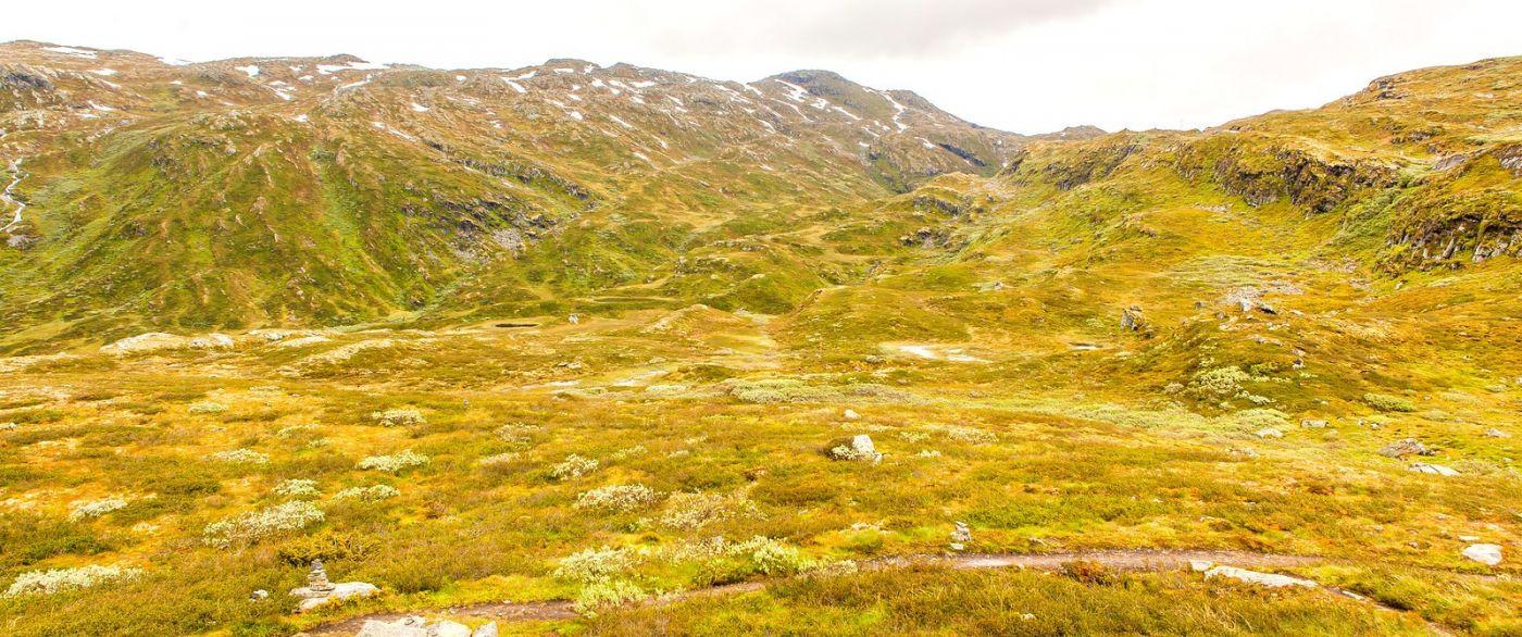 北欧风光,蜿蜒的小道_图1-2