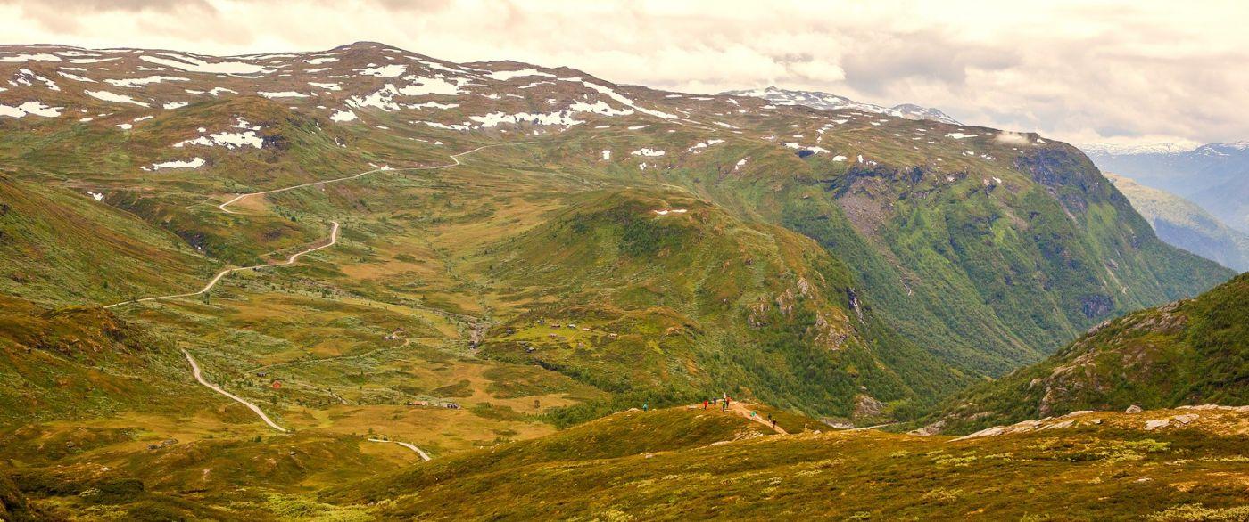 北欧风光,蜿蜒的小道_图1-7