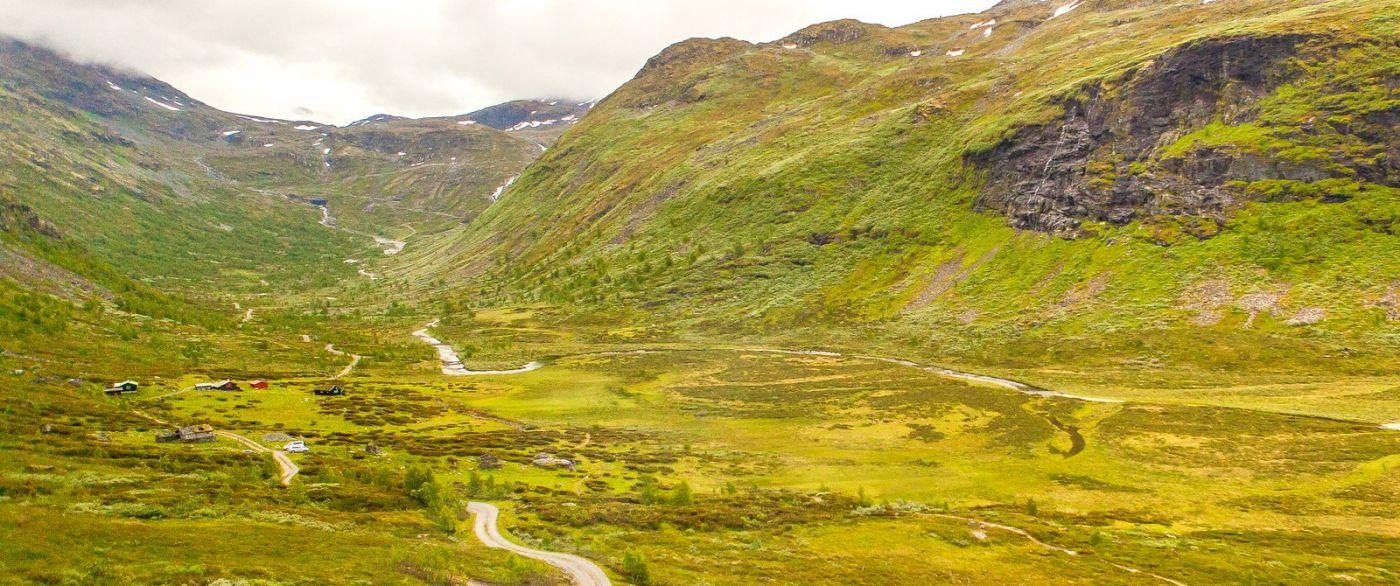 北欧风光,蜿蜒的小道_图1-8