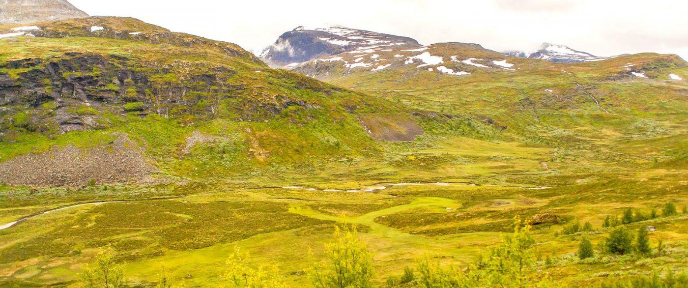 北欧风光,蜿蜒的小道_图1-27