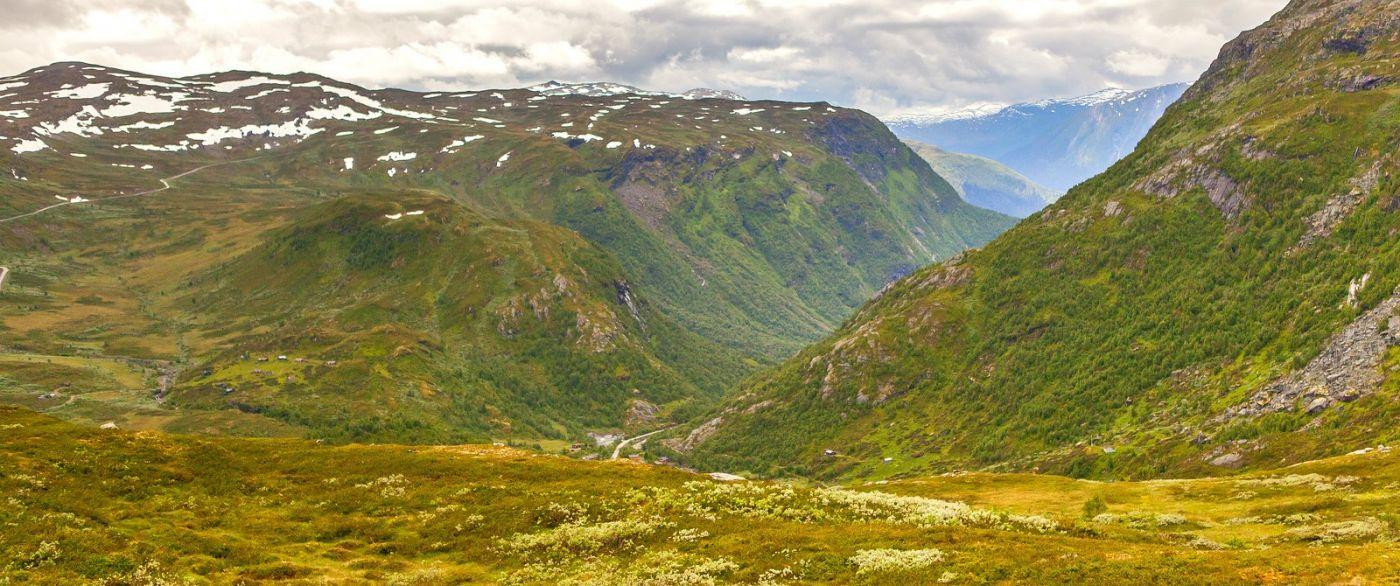 北欧风光,蜿蜒的小道_图1-26