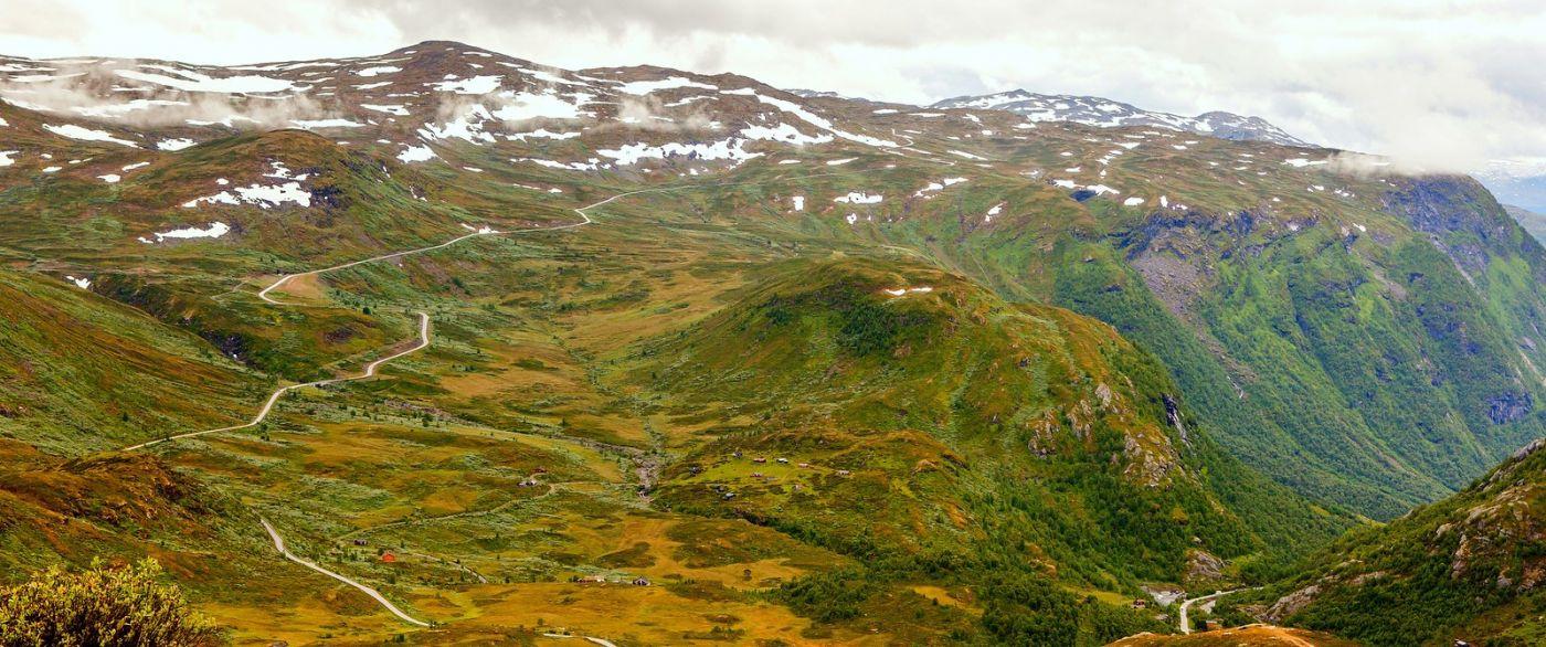 北欧风光,蜿蜒的小道_图1-25
