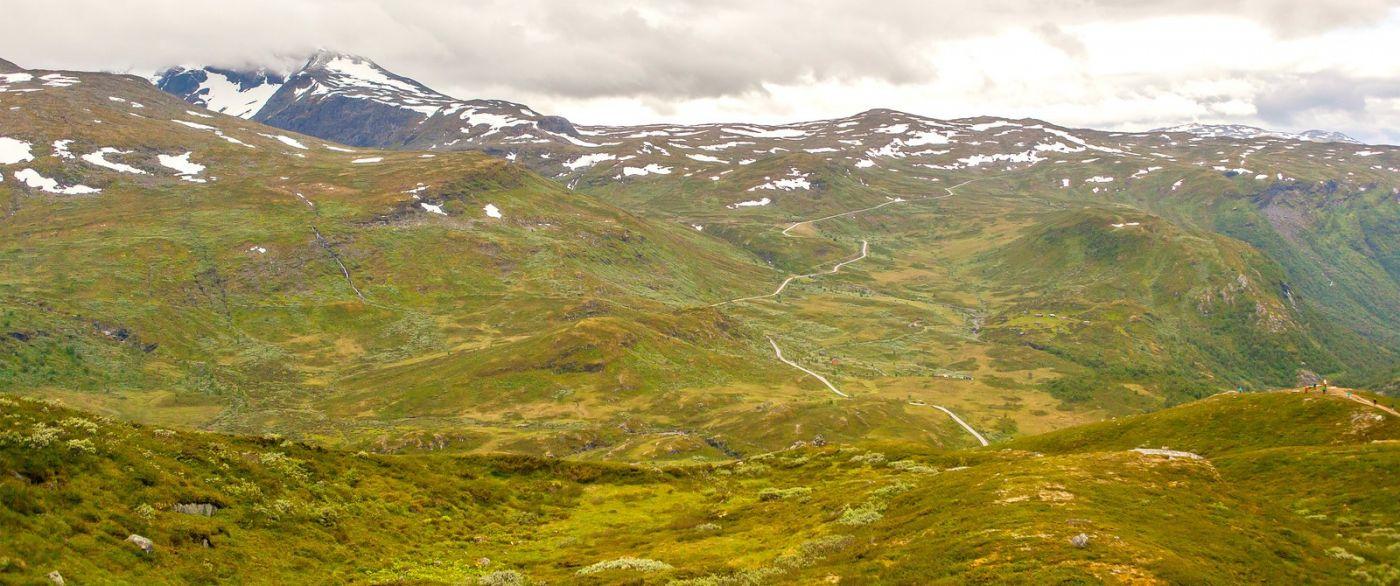 北欧风光,蜿蜒的小道_图1-29