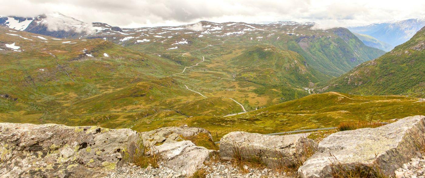 北欧风光,蜿蜒的小道_图1-30
