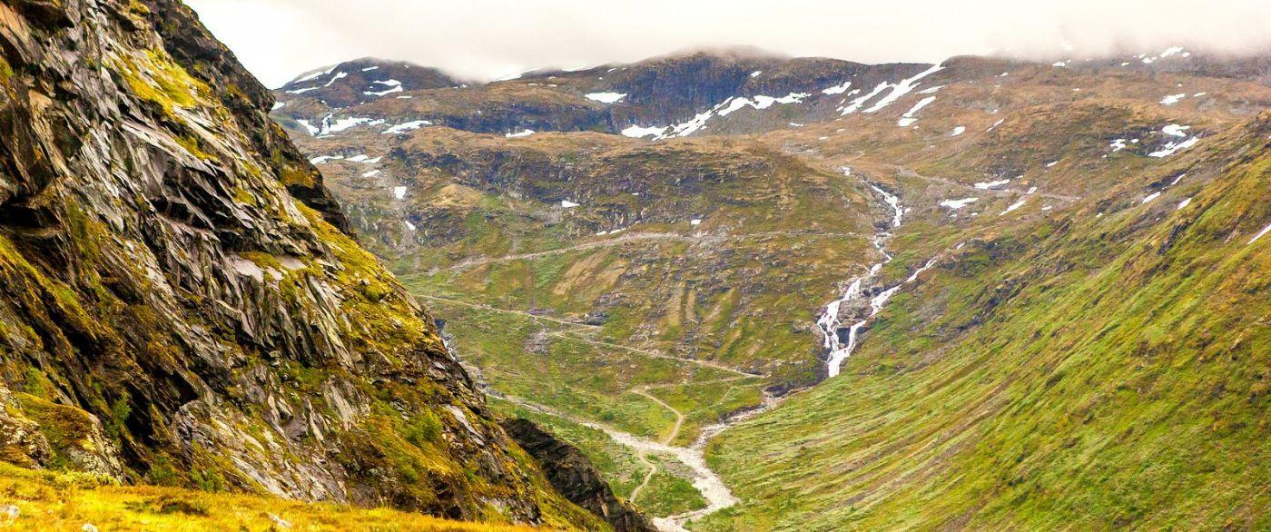 北欧风光,蜿蜒的小道_图1-32