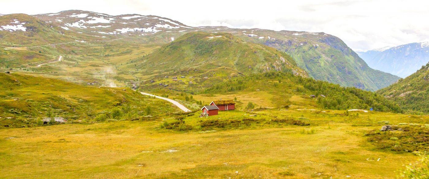 北欧风光,蜿蜒的小道_图1-36
