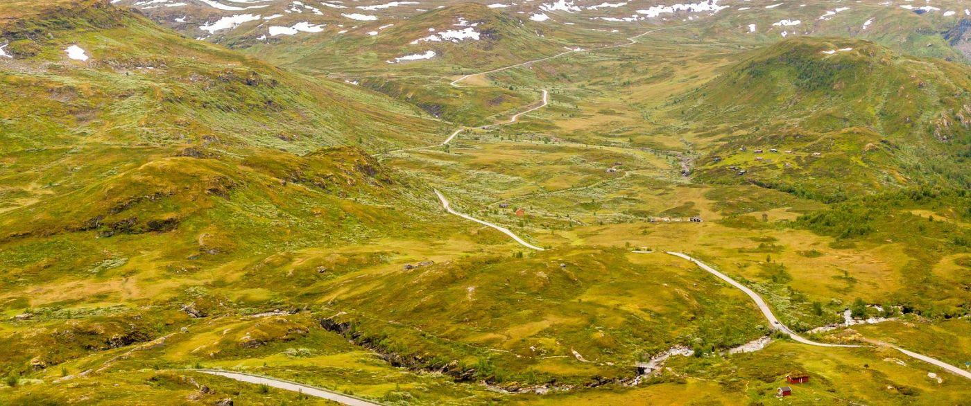 北欧风光,蜿蜒的小道_图1-34