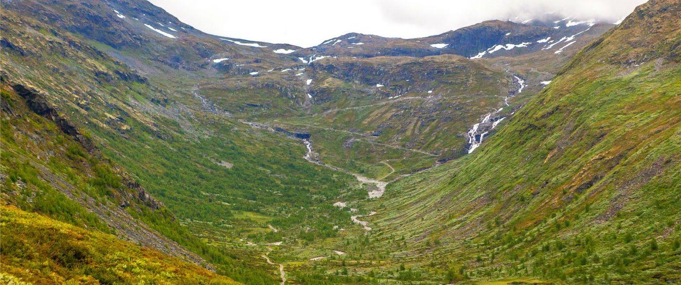 北欧风光,蜿蜒的小道_图1-37