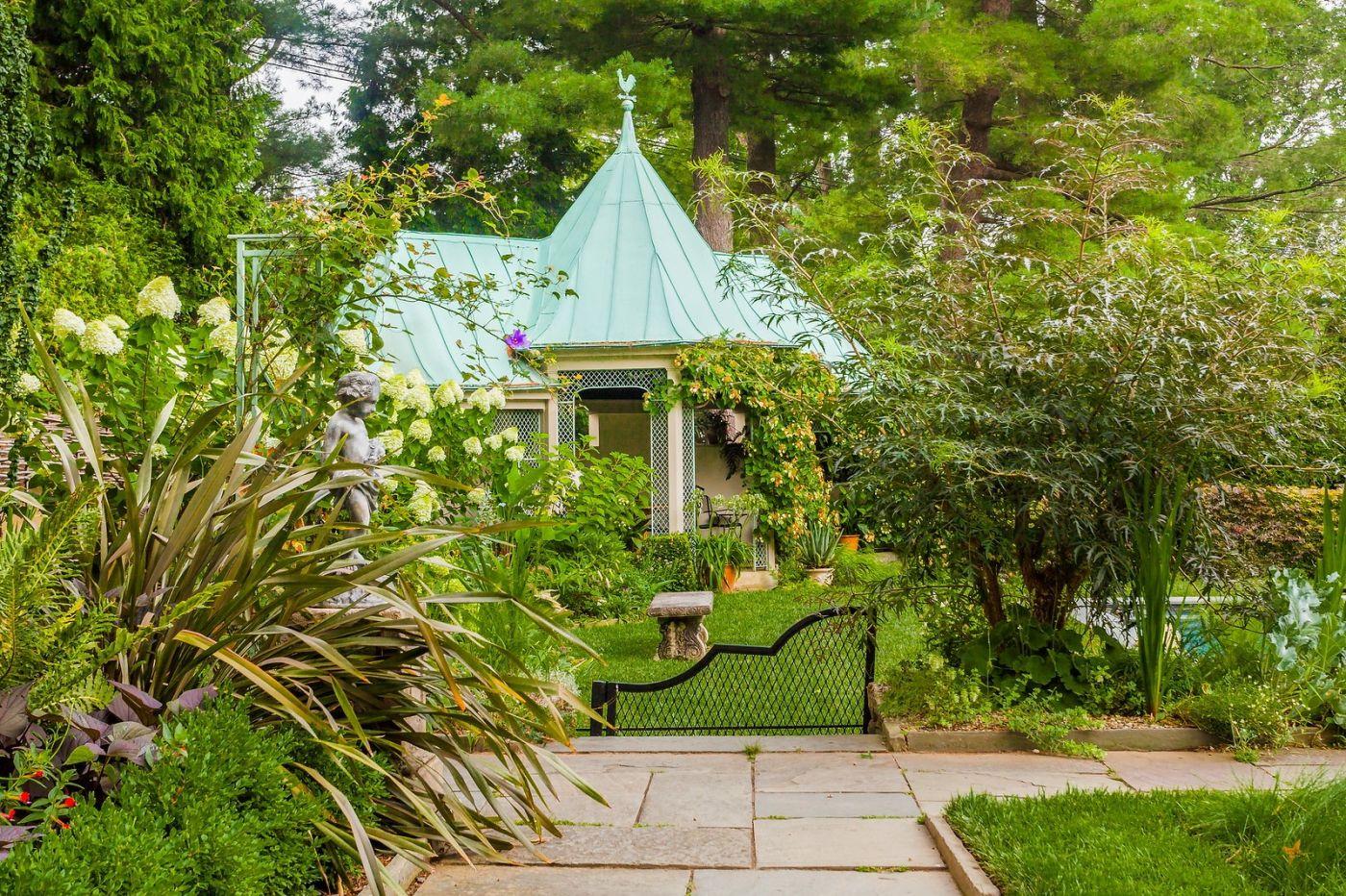 Chanticleer花园,花房泳池_图1-38
