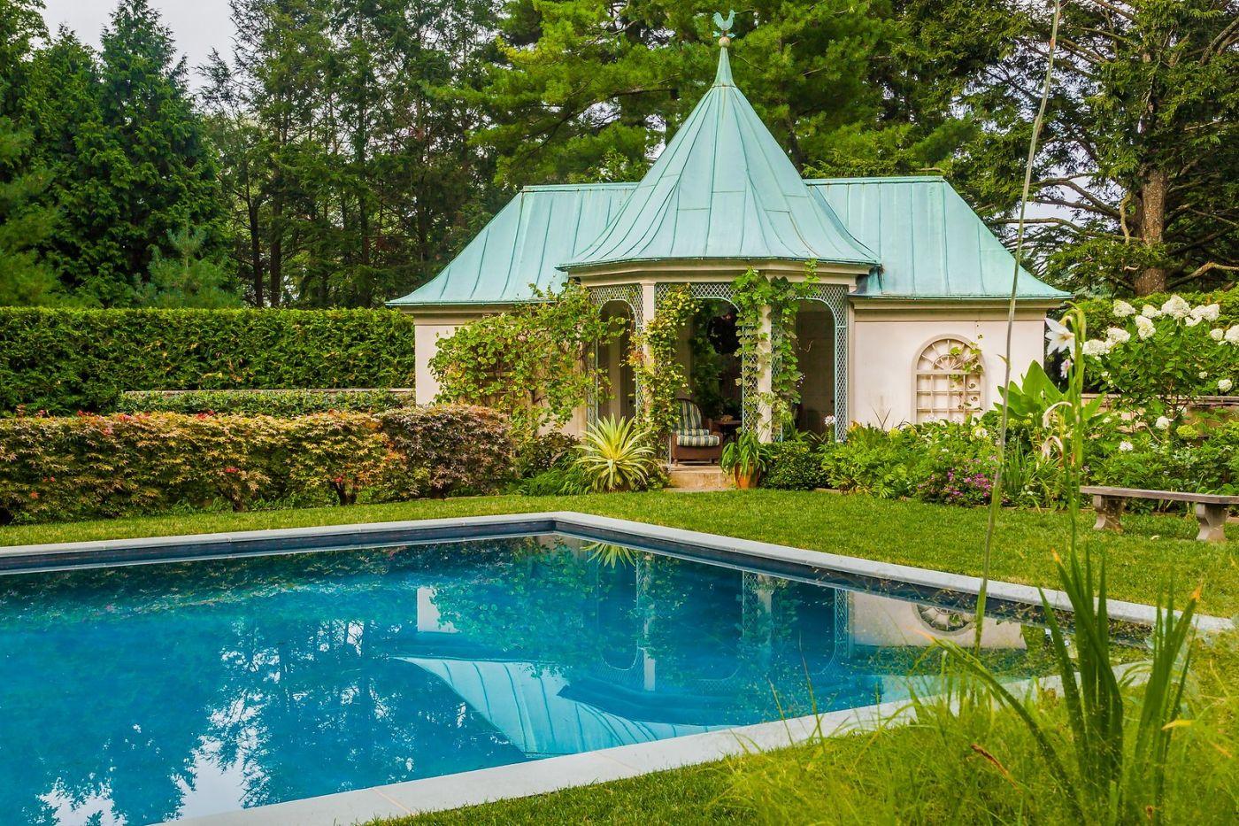 Chanticleer花园,花房泳池_图1-36
