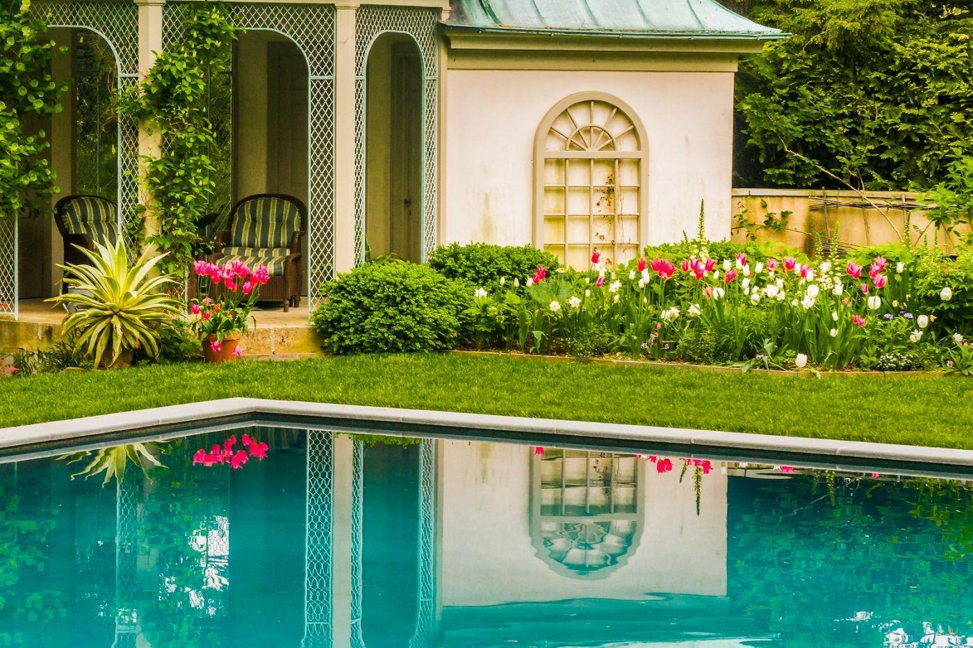 Chanticleer花园,花房泳池_图1-31
