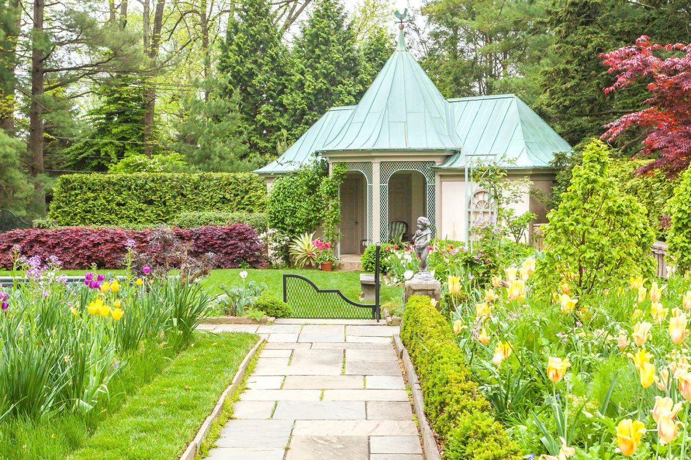 Chanticleer花园,花房泳池_图1-33