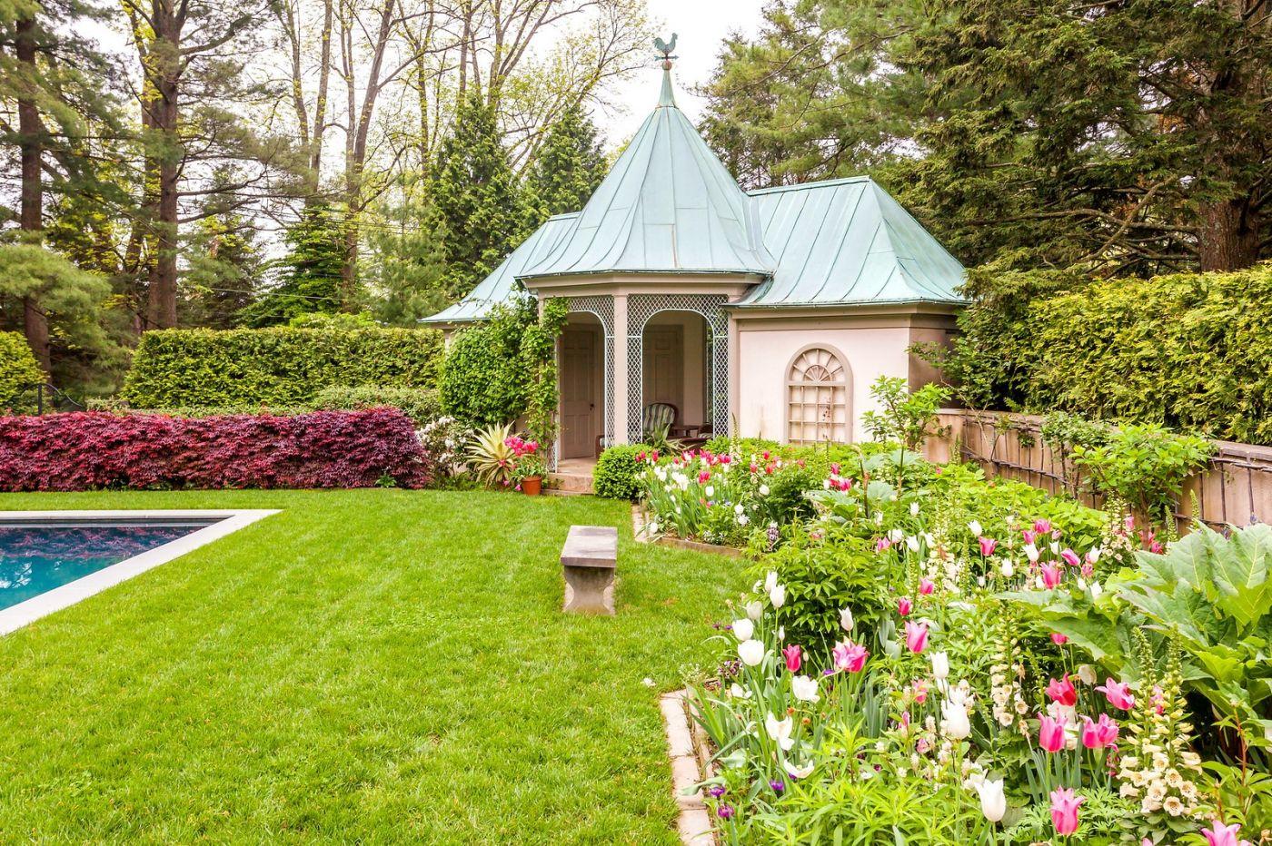Chanticleer花园,花房泳池_图1-30