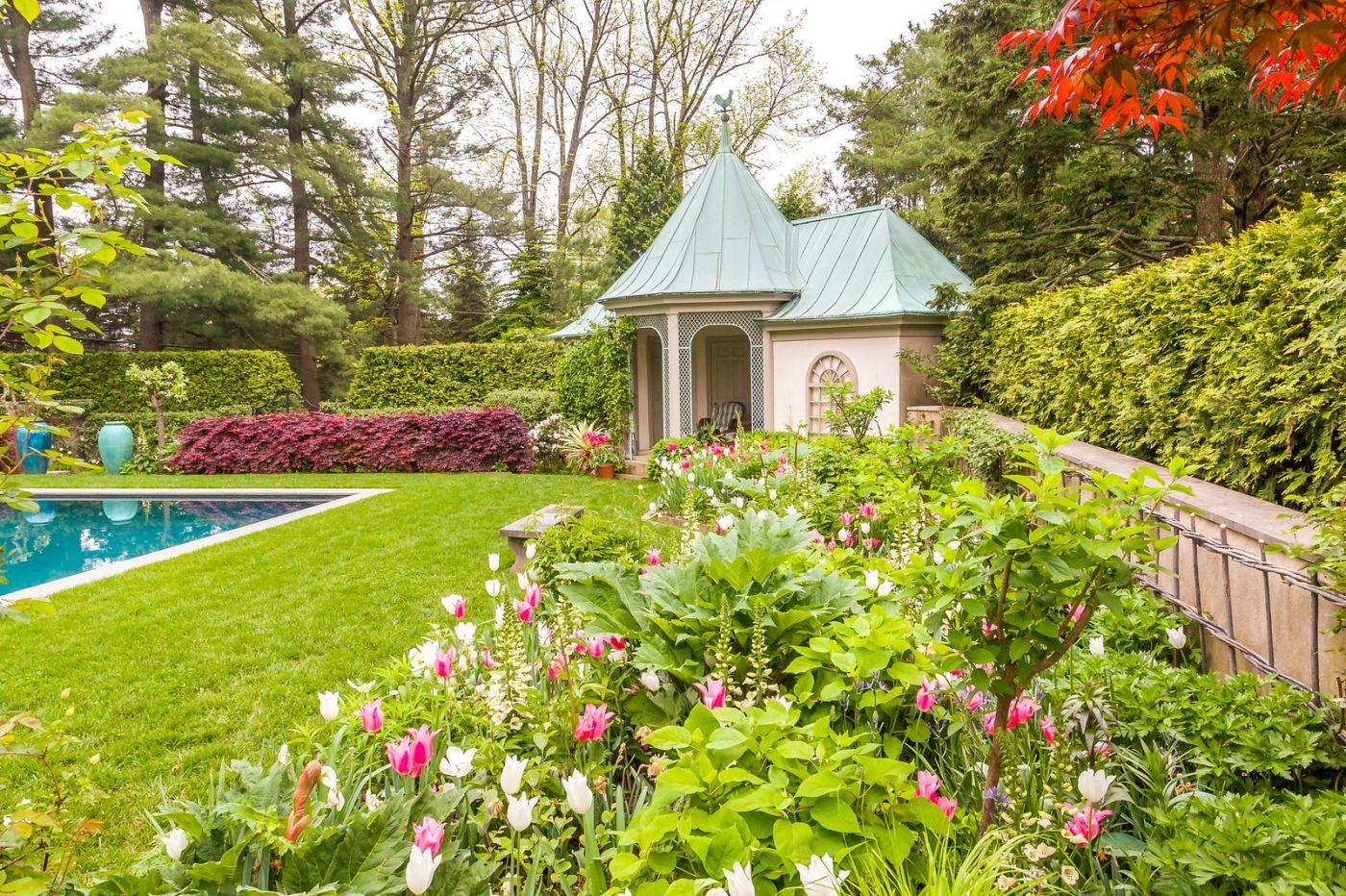 Chanticleer花园,花房泳池_图1-27