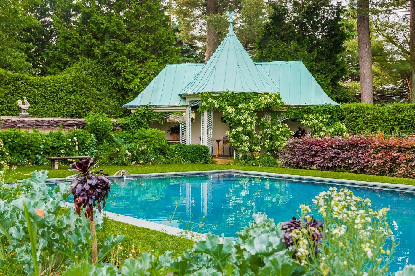 Chanticleer花园,花房泳池_图1-22