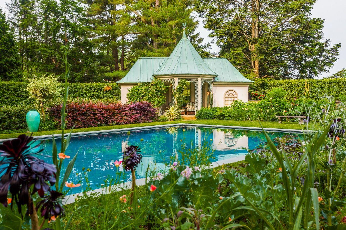 Chanticleer花园,花房泳池_图1-19