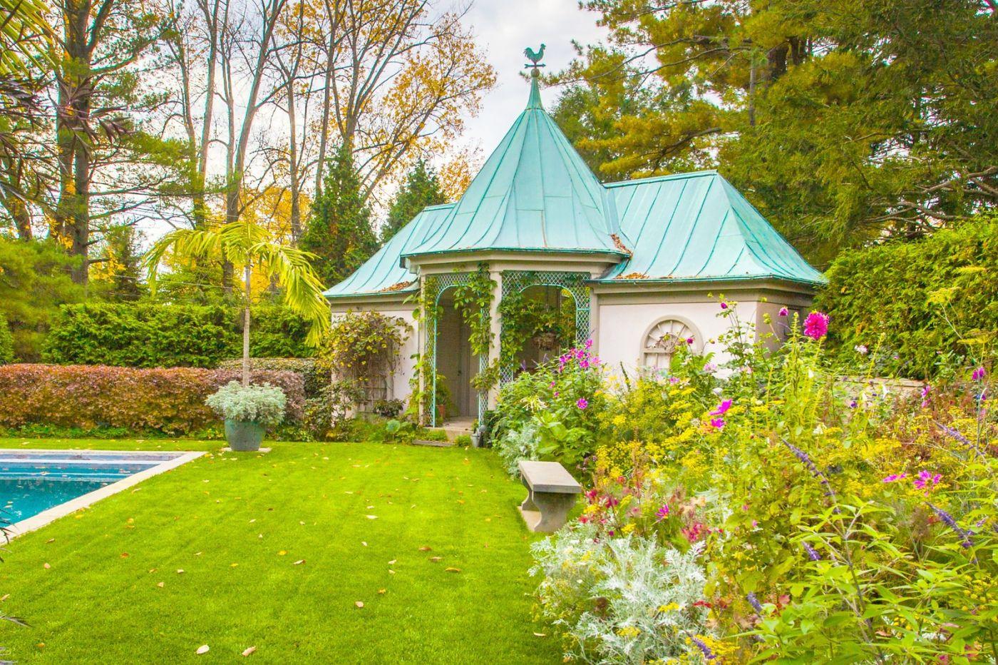 Chanticleer花园,花房泳池_图1-16