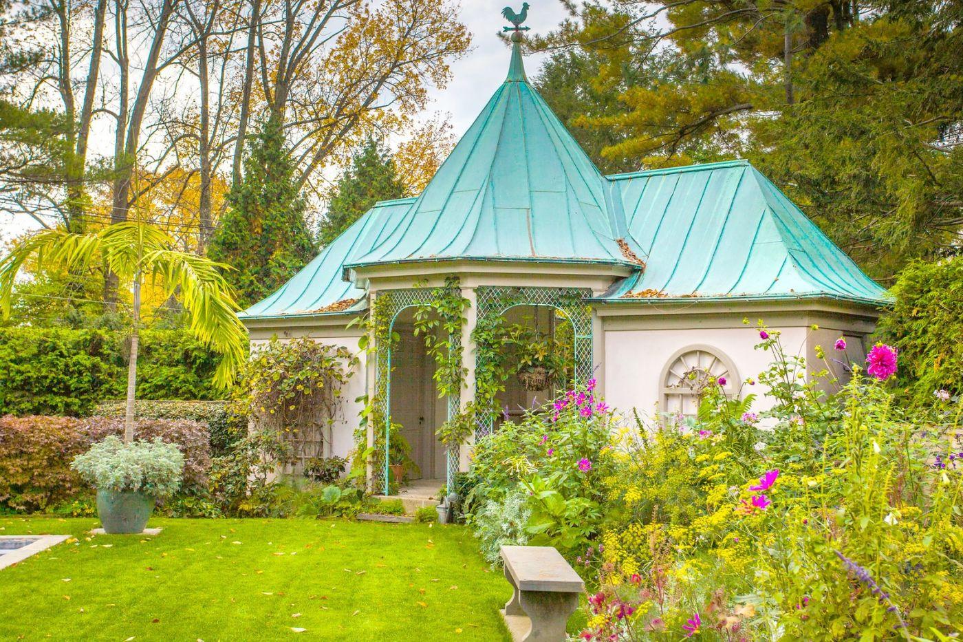 Chanticleer花园,花房泳池_图1-18