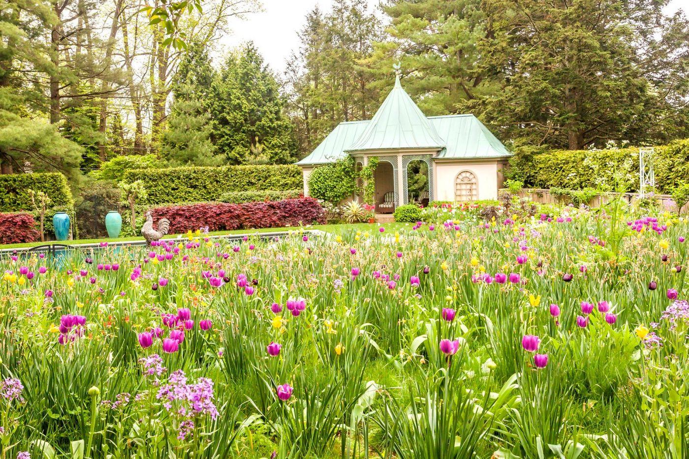 Chanticleer花园,花房泳池_图1-3