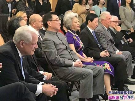 高娓娓:中国驻纽约总领馆隆重举行国庆70周年招待会_图1-8