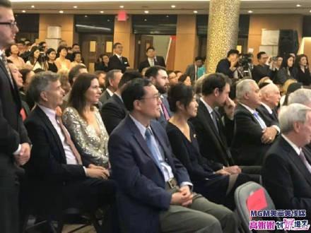 高娓娓:中国驻纽约总领馆隆重举行国庆70周年招待会_图1-9