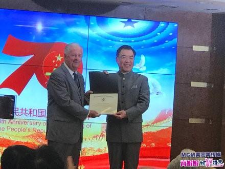 高娓娓:中国驻纽约总领馆隆重举行国庆70周年招待会_图1-15