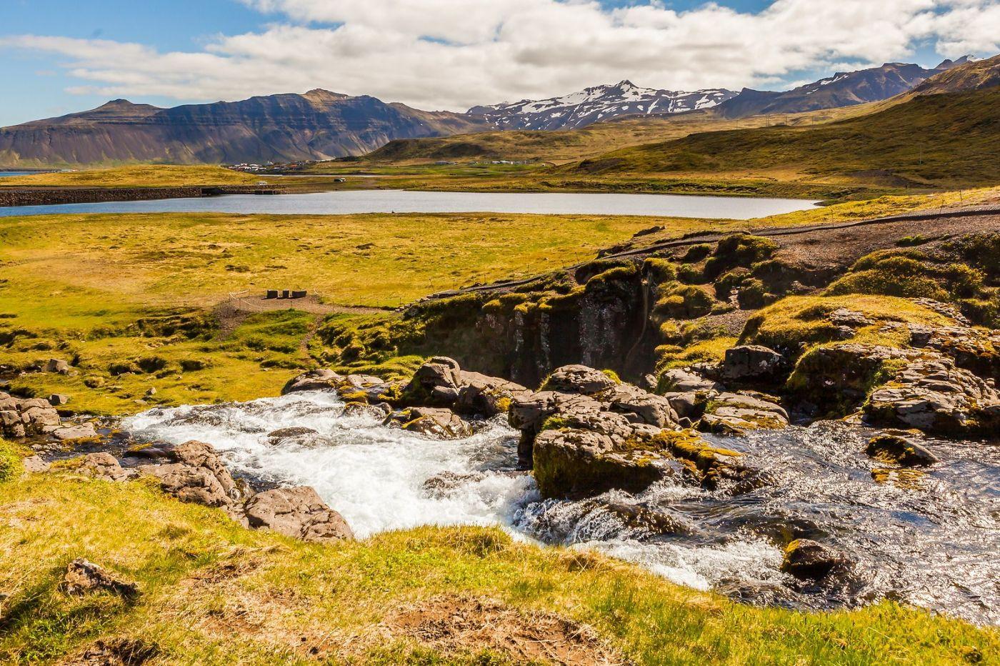冰岛Kirkjufellsfoss,山脚下的瀑布_图1-9