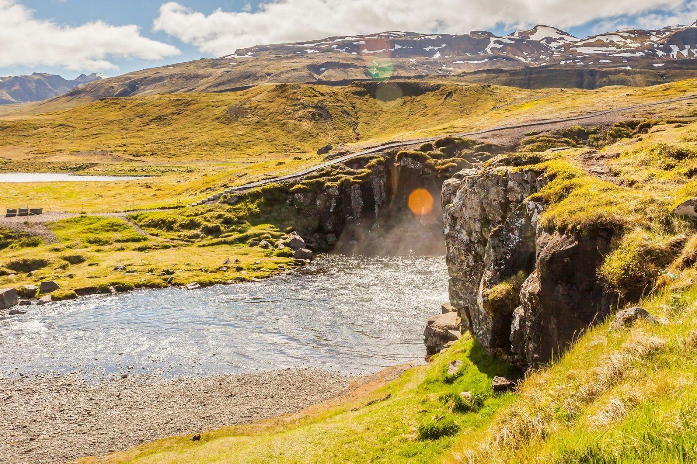 冰岛Kirkjufellsfoss,山脚下的瀑布_图1-11