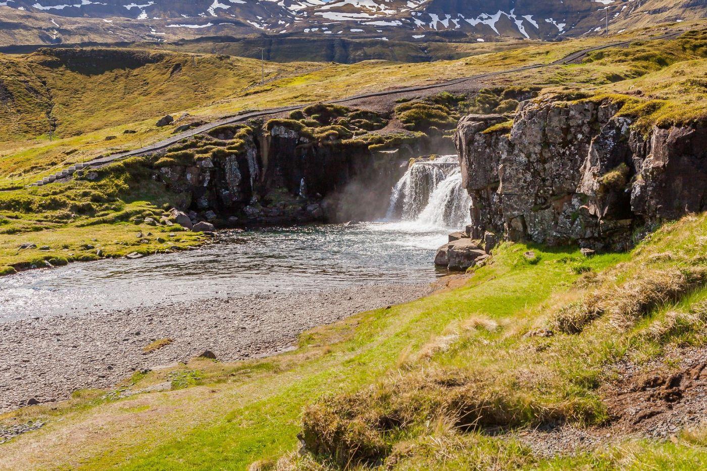 冰岛Kirkjufellsfoss,山脚下的瀑布_图1-7