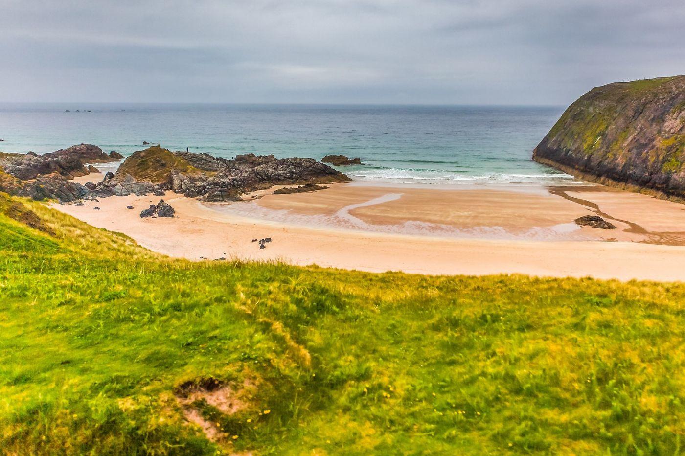 苏格兰美景,弯弯的沙滩_图1-6
