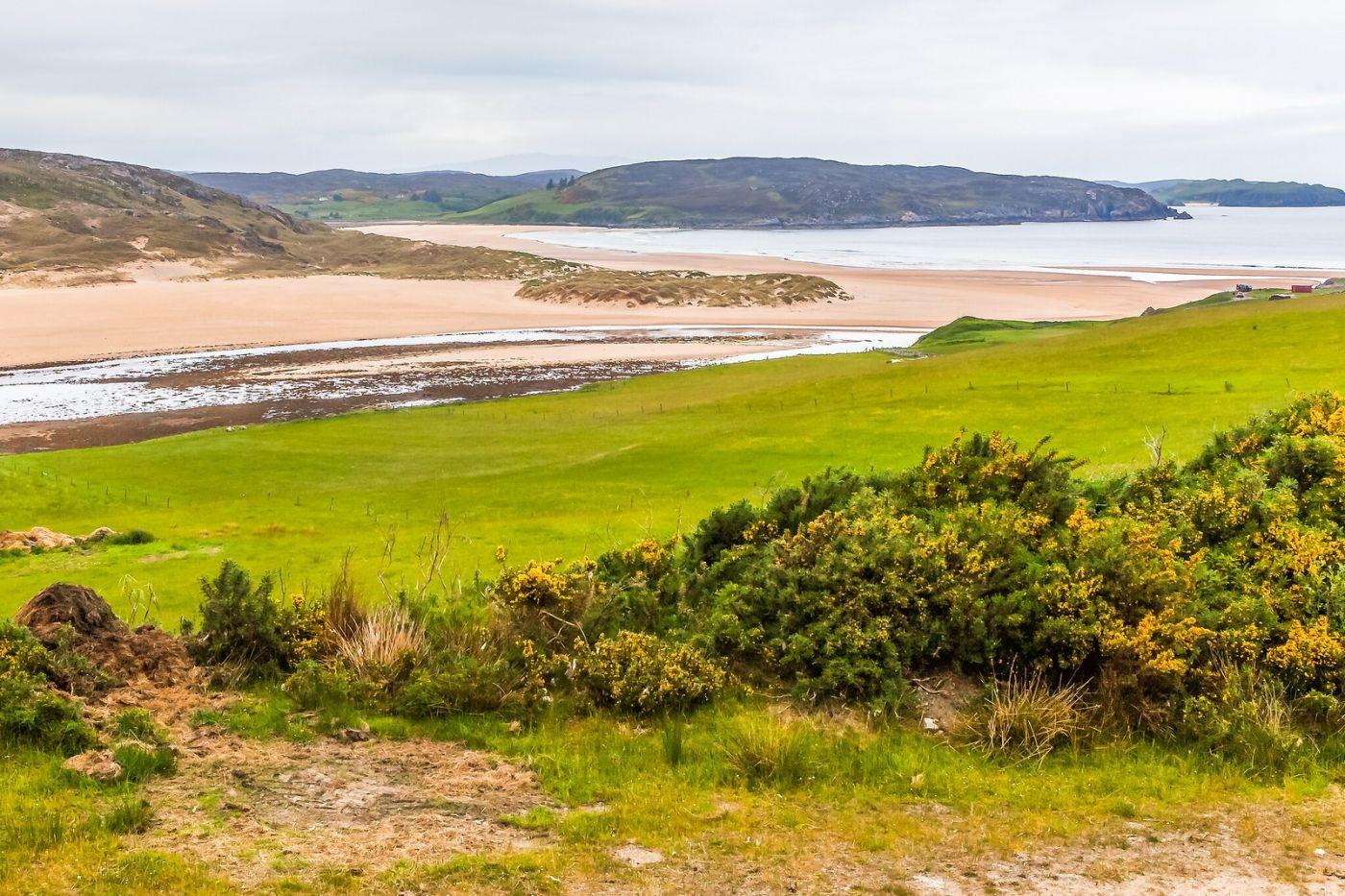 苏格兰美景,弯弯的沙滩_图1-5