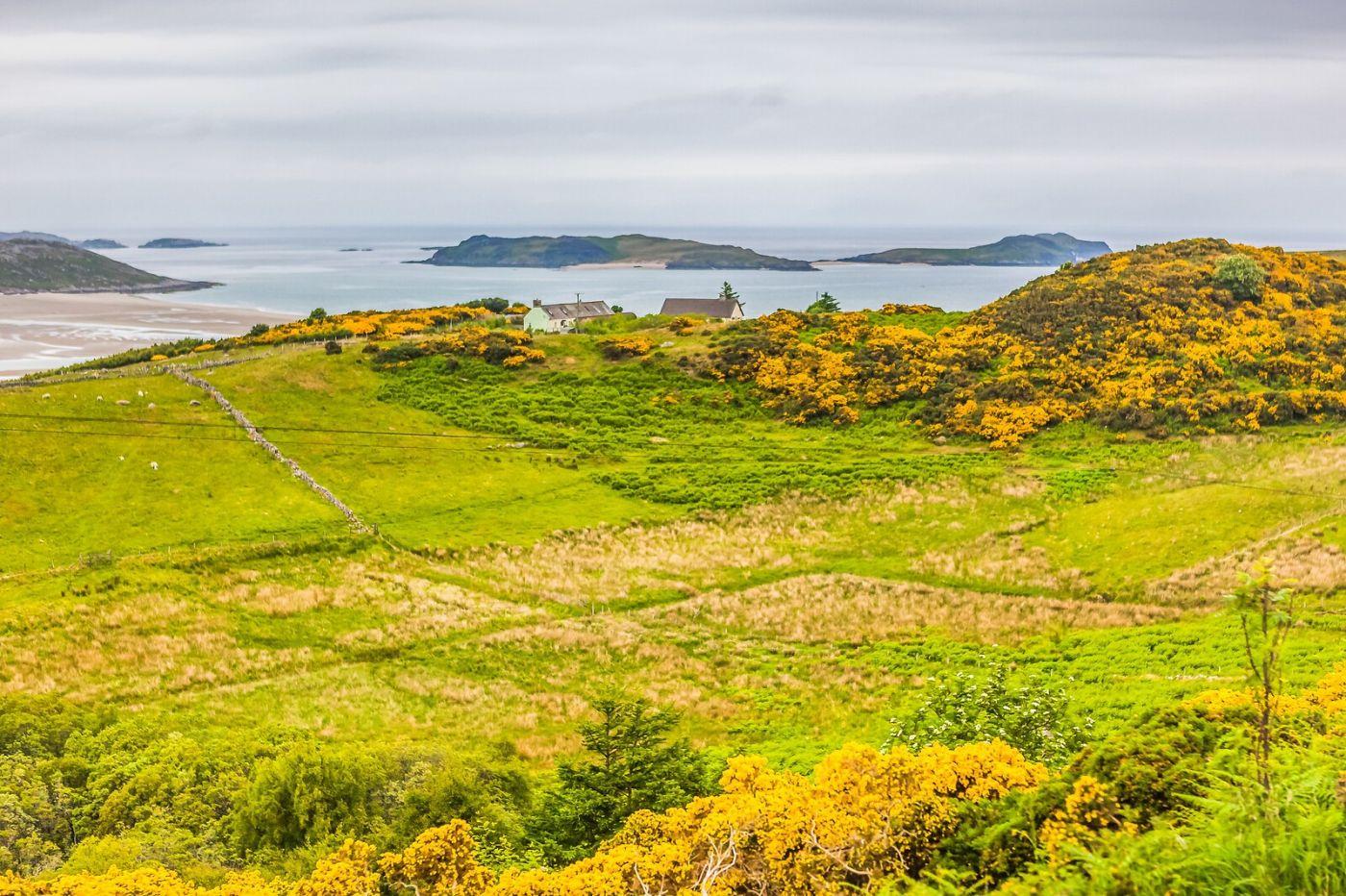 苏格兰美景,弯弯的沙滩_图1-1