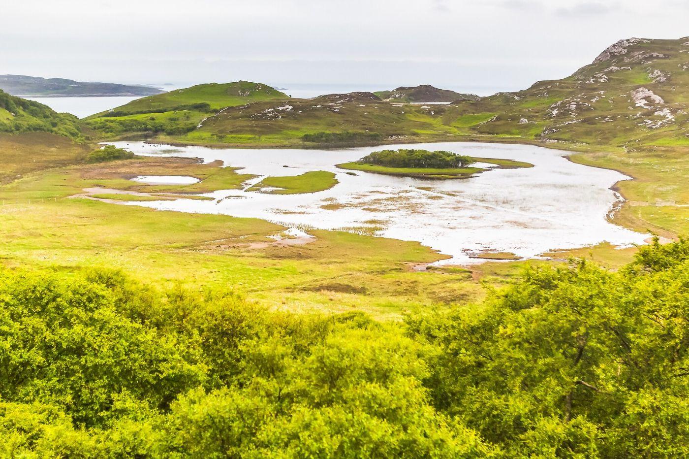 苏格兰美景,弯弯的沙滩_图1-2