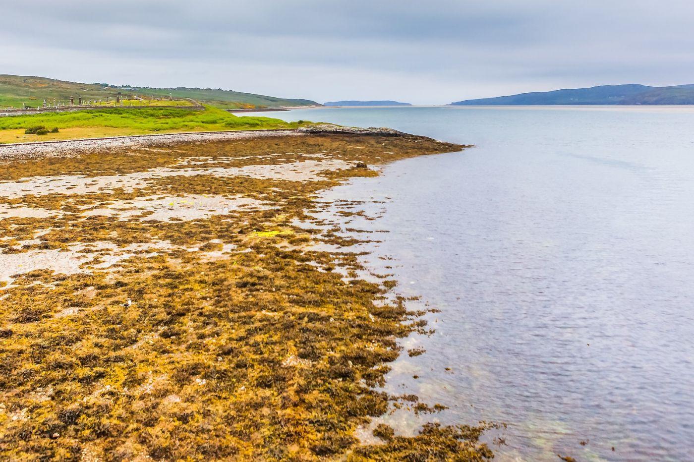 苏格兰美景,弯弯的沙滩_图1-3