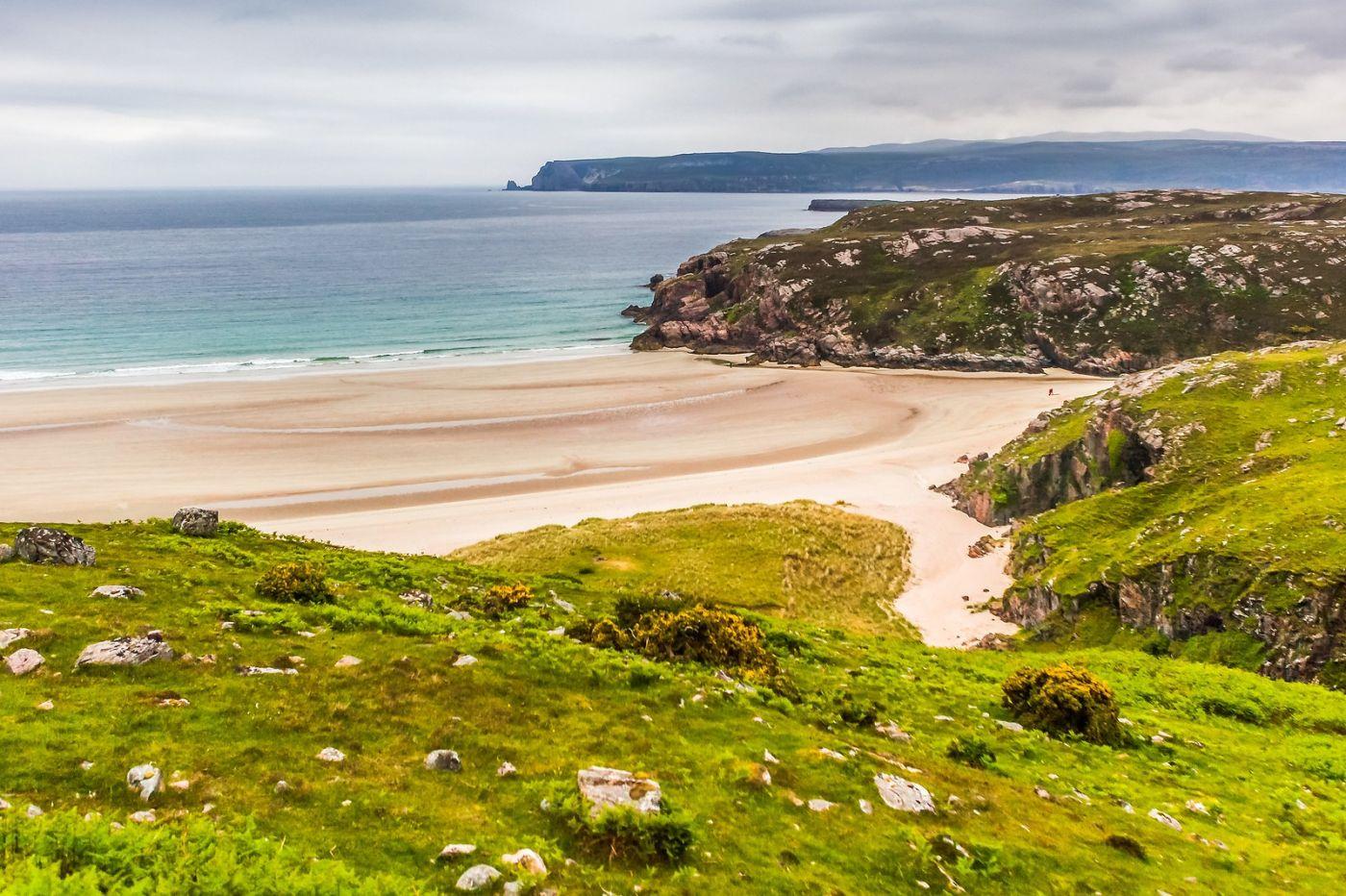 苏格兰美景,弯弯的沙滩_图1-4