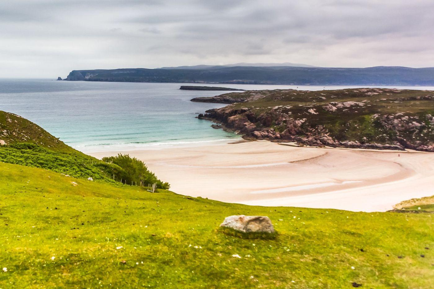 苏格兰美景,弯弯的沙滩_图1-9