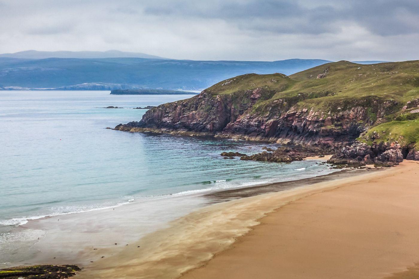苏格兰美景,弯弯的沙滩_图1-17