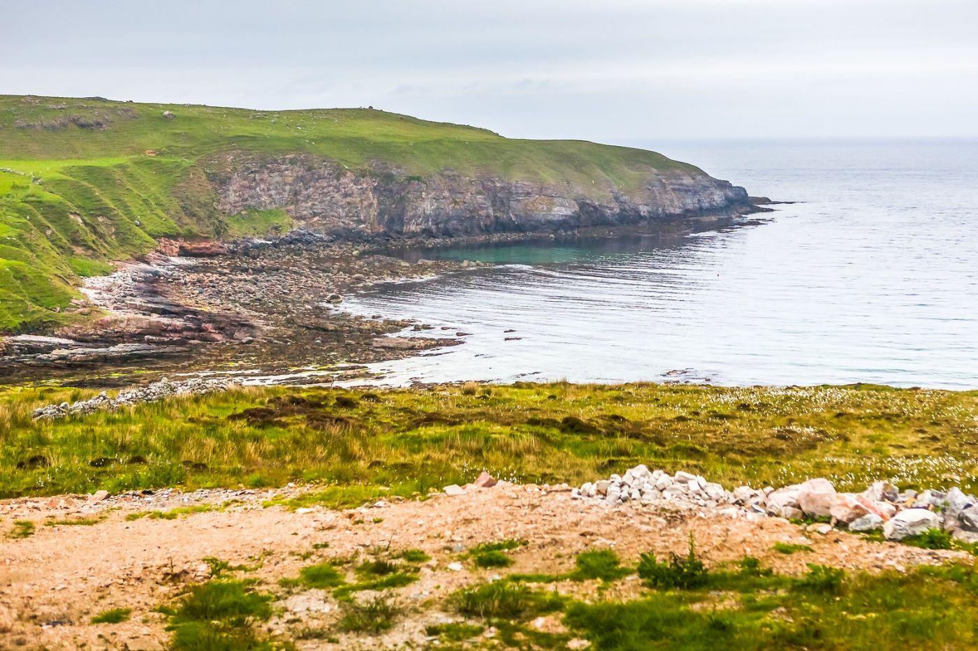 苏格兰美景,弯弯的沙滩_图1-19
