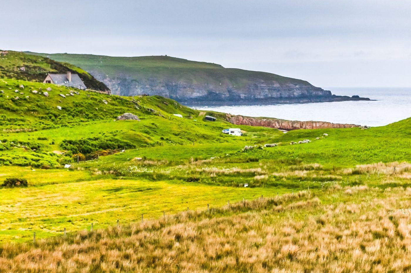 苏格兰美景,弯弯的沙滩_图1-20