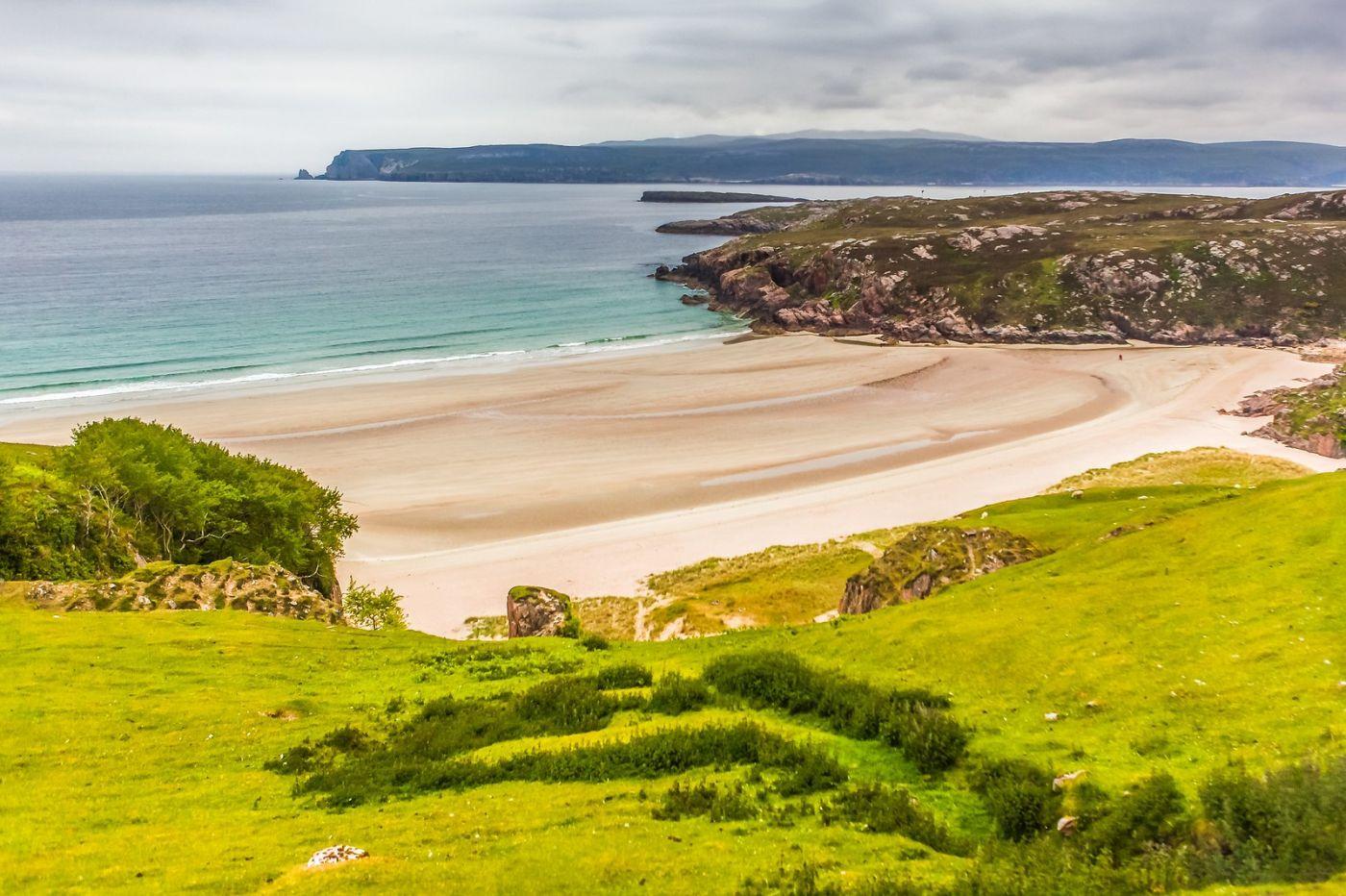 苏格兰美景,弯弯的沙滩_图1-24