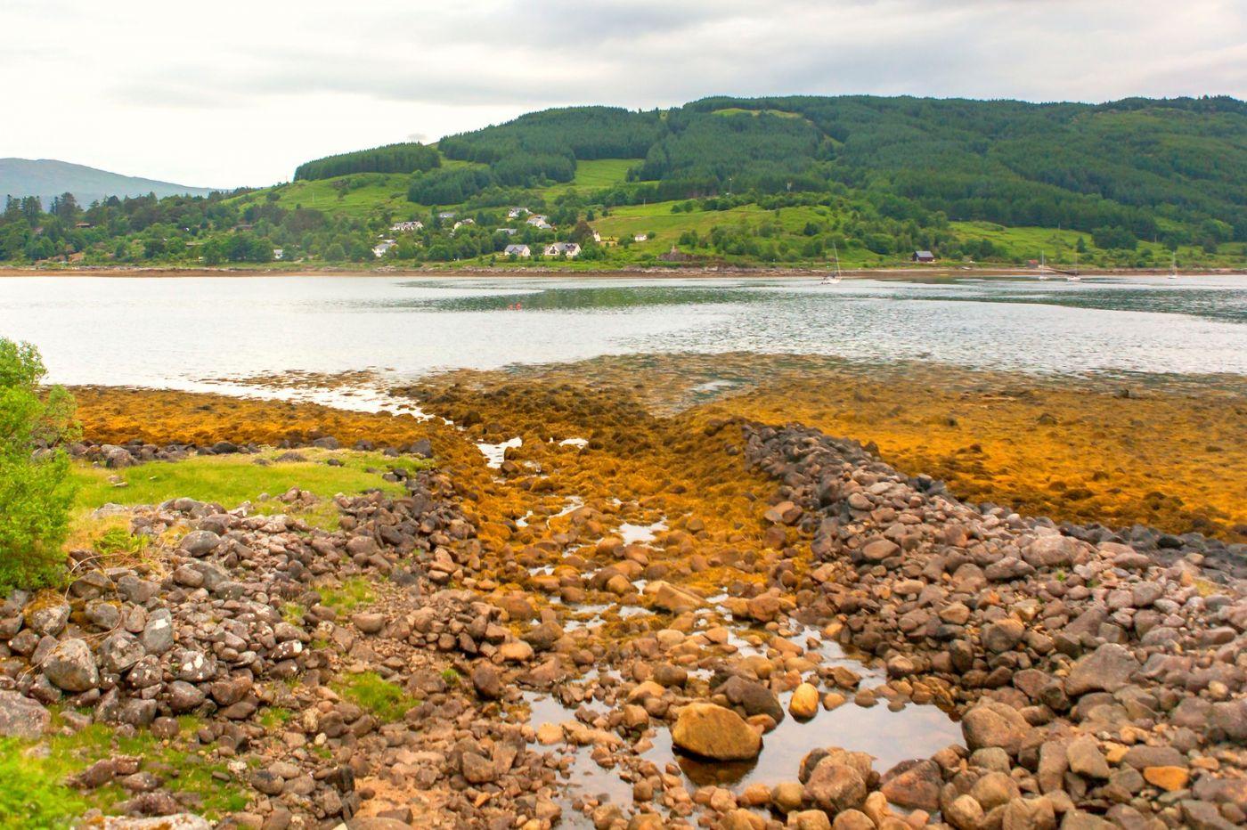苏格兰美景,弯弯的沙滩_图1-25