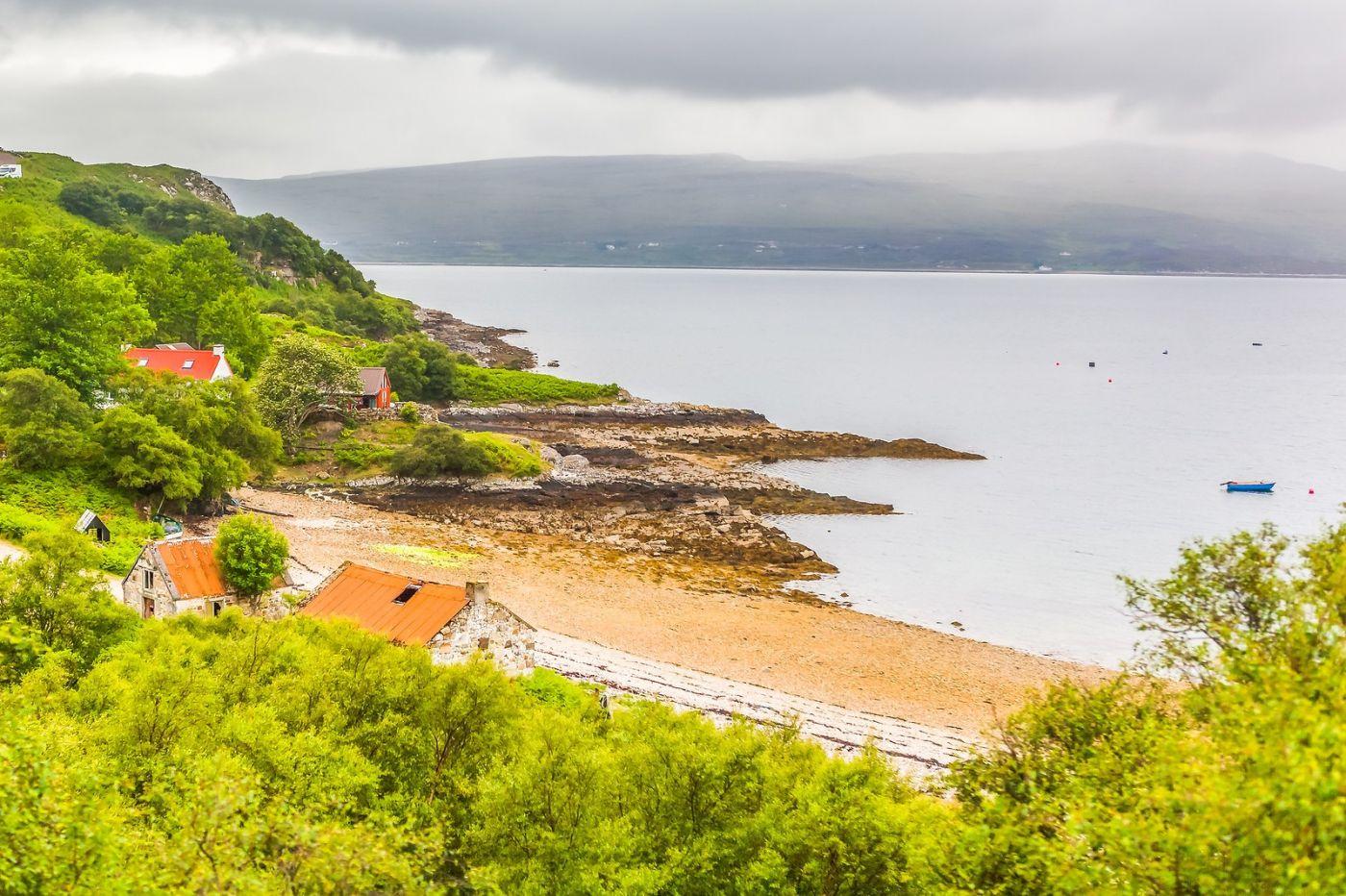 苏格兰美景,弯弯的沙滩_图1-26